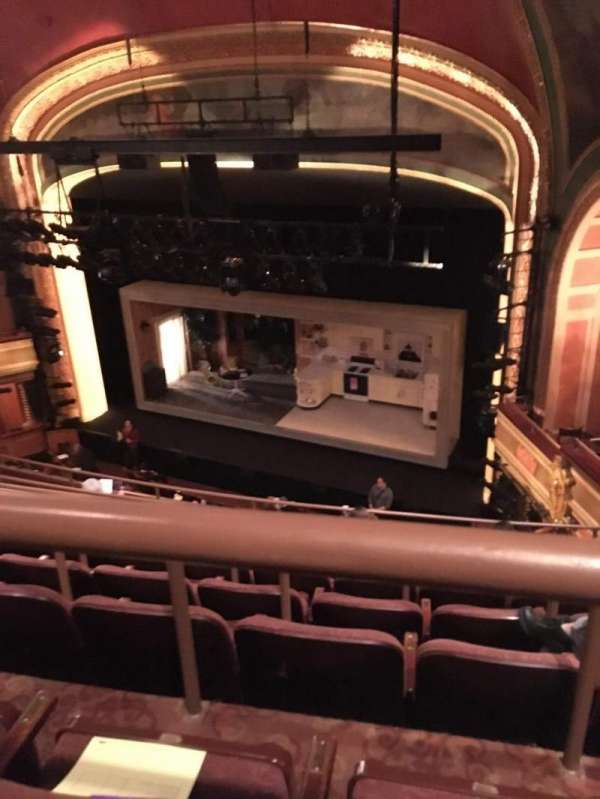American Airlines Theatre, secção: Rear Mezzanine, fila: G, lugar: 101
