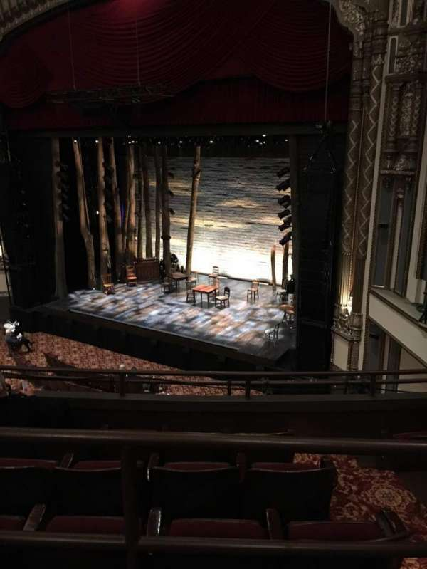 Golden Gate Theatre, secção: Mezzanine R, fila: A, lugar: 32