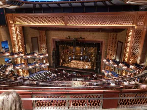 Walt Disney Theatre - Dr. Phillips Center, secção: UPPER BALCONY, fila: K, lugar: 155
