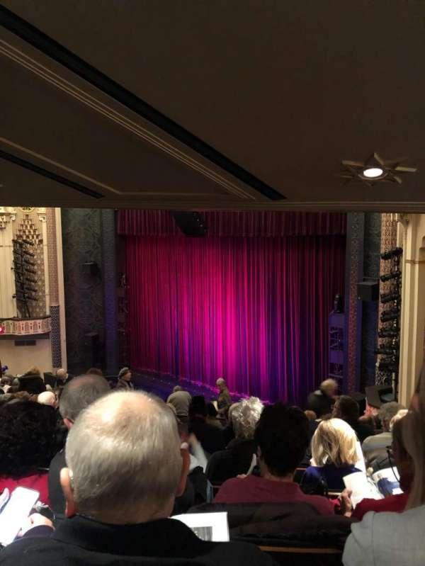 New York City Center, secção: MEZZ, fila: G, lugar: 26