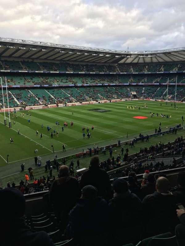 Twickenham Stadium, secção: M12, fila: 60, lugar: 334