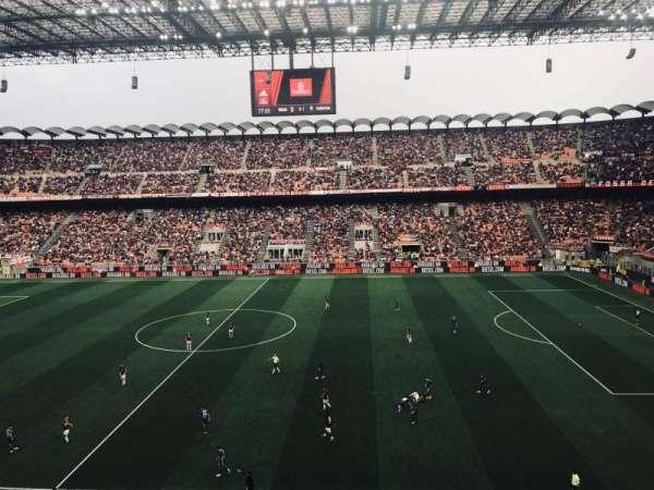 Stadio Giuseppe Meazza, secção: 225, fila: 1