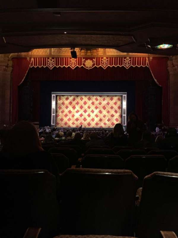 Fox Theatre (Atlanta), secção: Orchestra C, fila: AA, lugar: 105