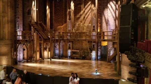 CIBC Theatre, secção: DRCR-R, fila: A, lugar: 12