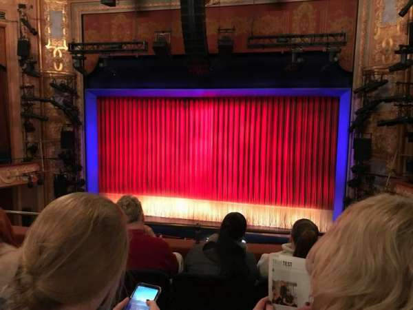 Longacre Theatre, secção: Mezzanine, fila: D, lugar: 101