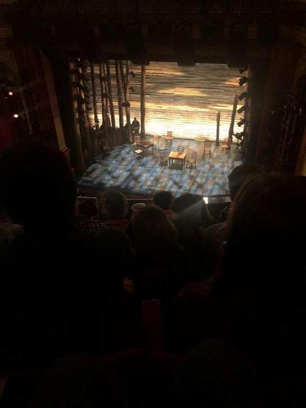 Phoenix Theatre, secção: Grand Circle, fila: E, lugar: 6