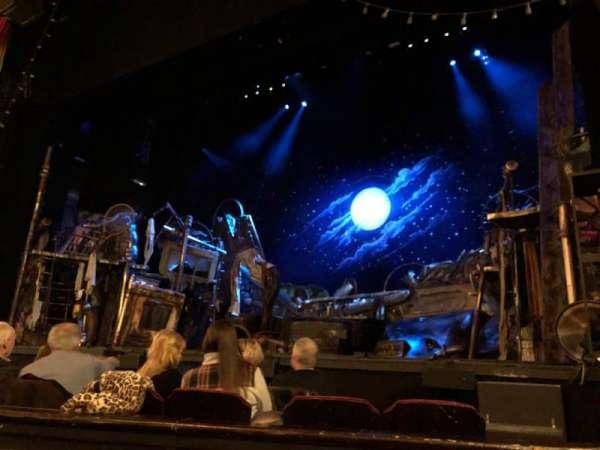 Providence Performing Arts Center, secção: ORCH, fila: E, lugar: 124