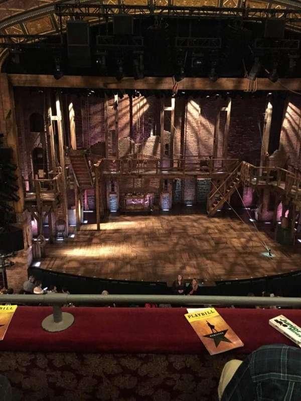 Richard Rodgers Theatre, secção: Front Mezzanine C, fila: B, lugar: 111