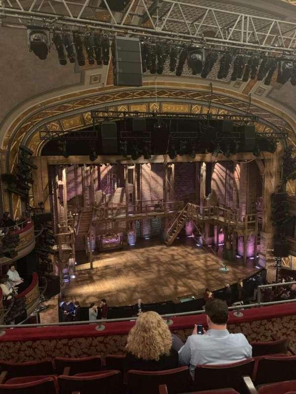 Richard Rodgers Theatre, secção: Front Mezzanine L, fila: E, lugar: 11