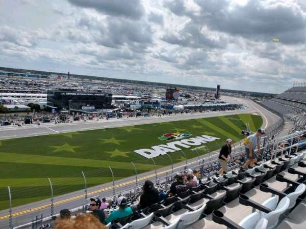 Daytona International Speedway, secção: 344, fila: 18, lugar: 18