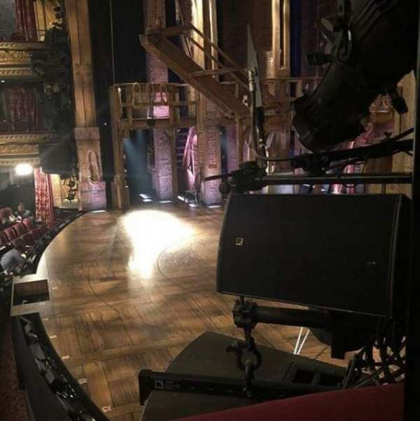 Richard Rodgers Theatre, secção: Box C, fila: 1, lugar: 1
