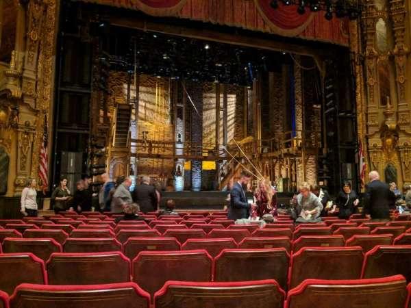 Ohio Theatre (Columbus), secção: ORCH 3, fila: L, lugar: 117