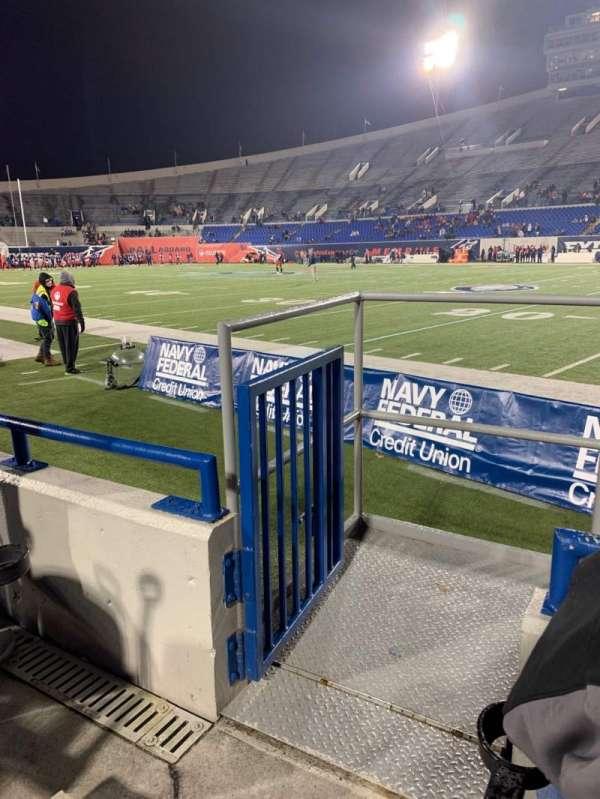 Liberty Bowl Memorial Stadium, secção: 117, fila: 4, lugar: 10