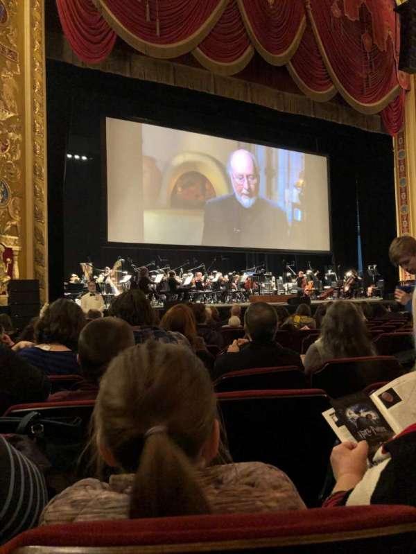 Providence Performing Arts Center, secção: Left Orchestra, fila: P, lugar: 9