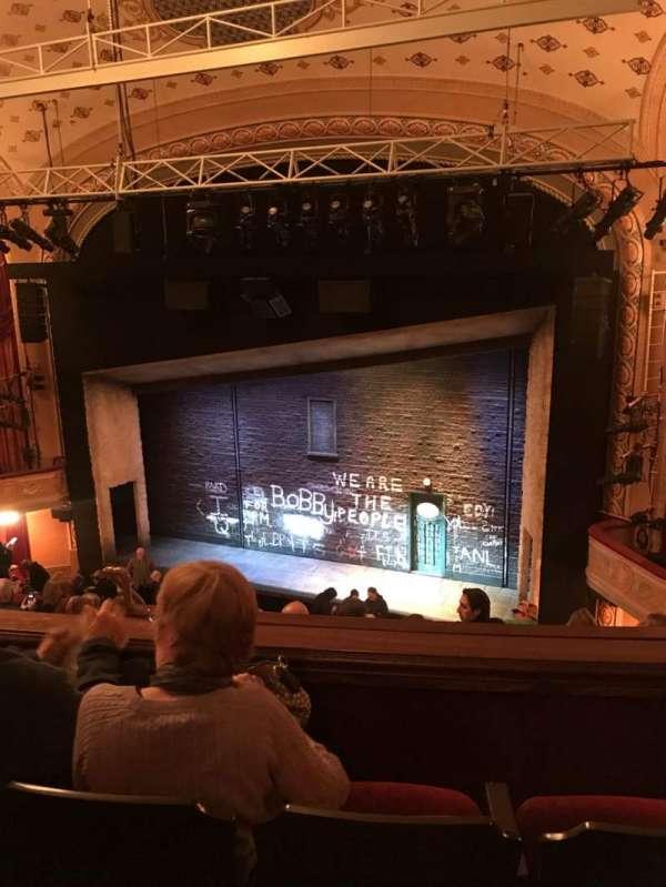 Bernard B. Jacobs Theatre, secção: Mezzanine R, fila: G, lugar: 12