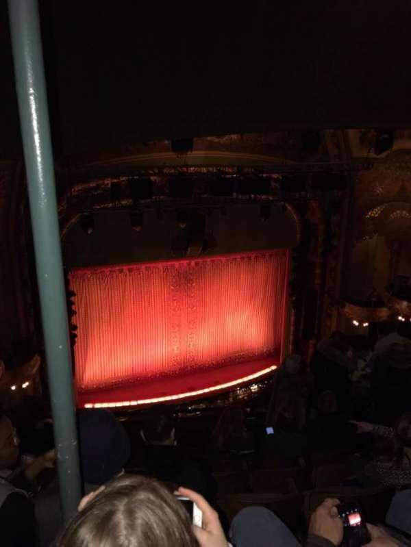 New Amsterdam Theatre, secção: Balcony L, fila: G, lugar: 11
