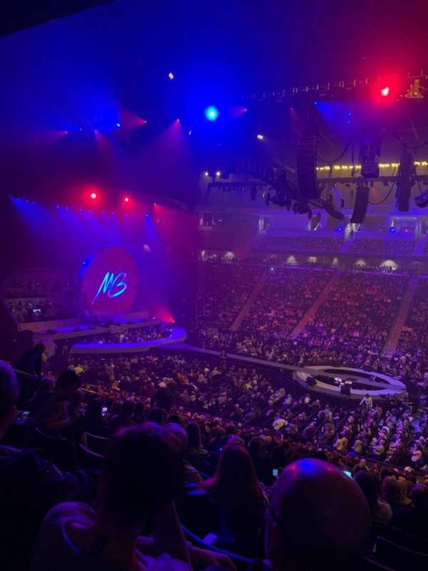 Infinite Energy Arena, secção: 118, fila: Y, lugar: 7