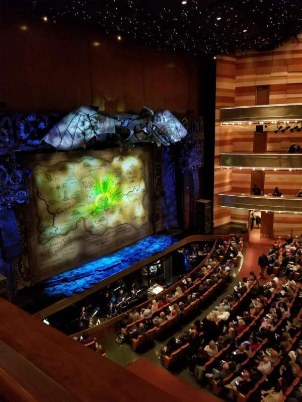 Eccles Theater, secção: Box K, lugar: 4