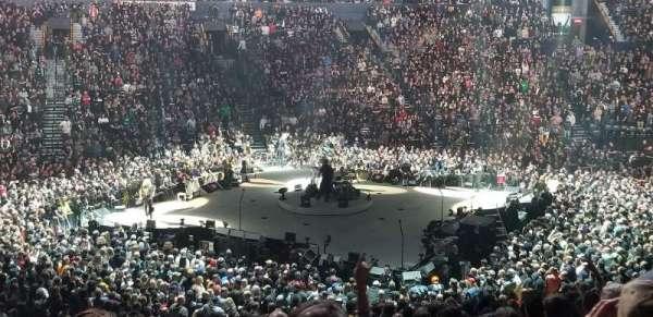 Bridgestone Arena, secção: 105, fila: N, lugar: 15