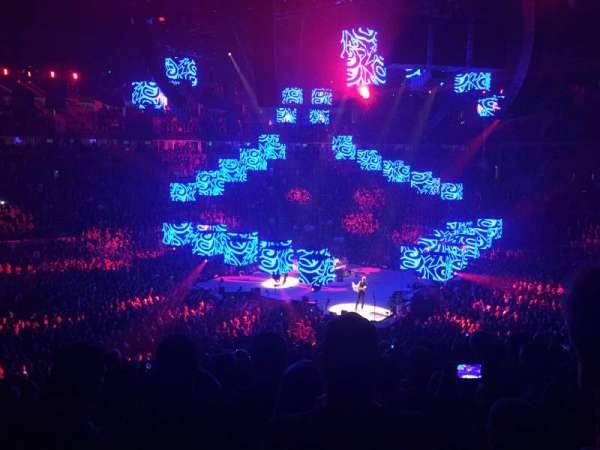 Bridgestone Arena, secção: 105, fila: N, lugar: 14