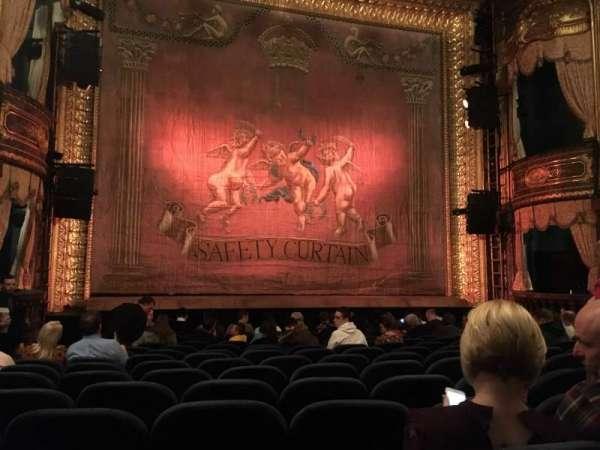 Theatre Royal Haymarket, secção: Stalls, fila: O, lugar: 15