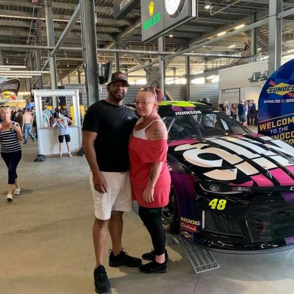 Daytona International Speedway, secção: 316, fila: 1, lugar: 17