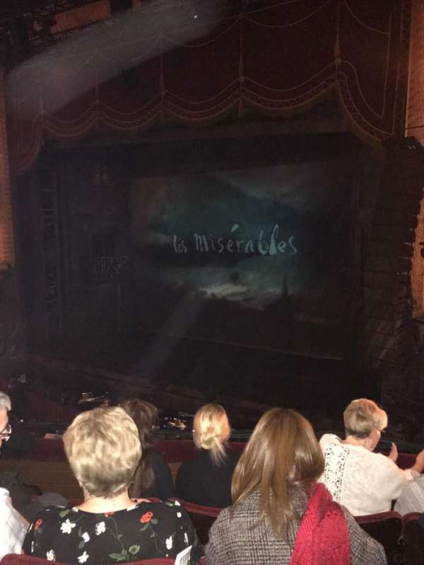 Palace Theatre (Manchester), secção: Circle, fila: D, lugar: 9