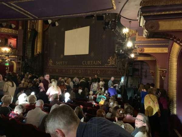 Palace Theatre (Manchester), secção: Stalls, fila: K, lugar: 3