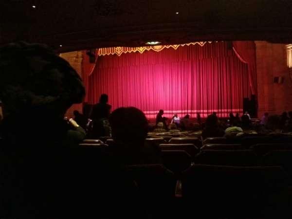 Fox Theatre (Atlanta), secção: Orchestra RC, fila: EE, lugar: 60