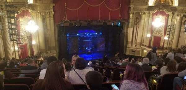 Boston Opera House, secção: MEZLFT, fila: O, lugar: 5