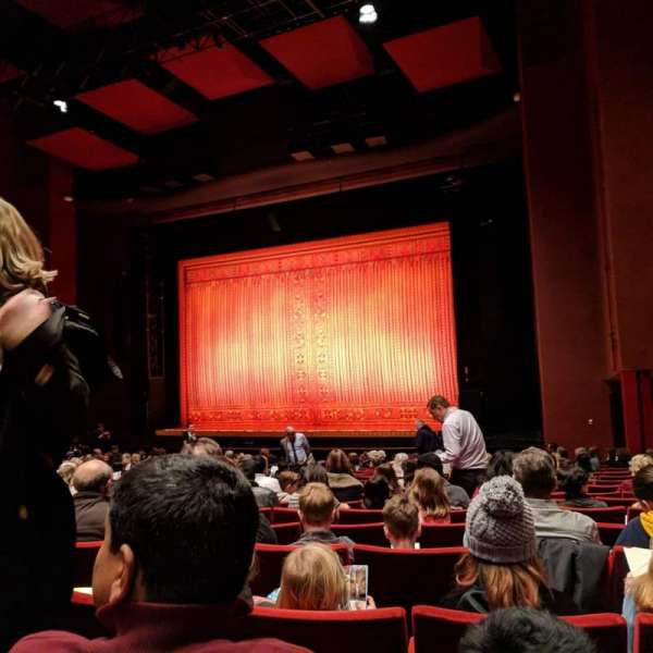 San Diego Civic Theatre, secção: Orch R, fila: R, lugar: 50