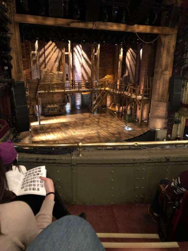 CIBC Theatre, secção: Mezzanine L, fila: C, lugar: 1