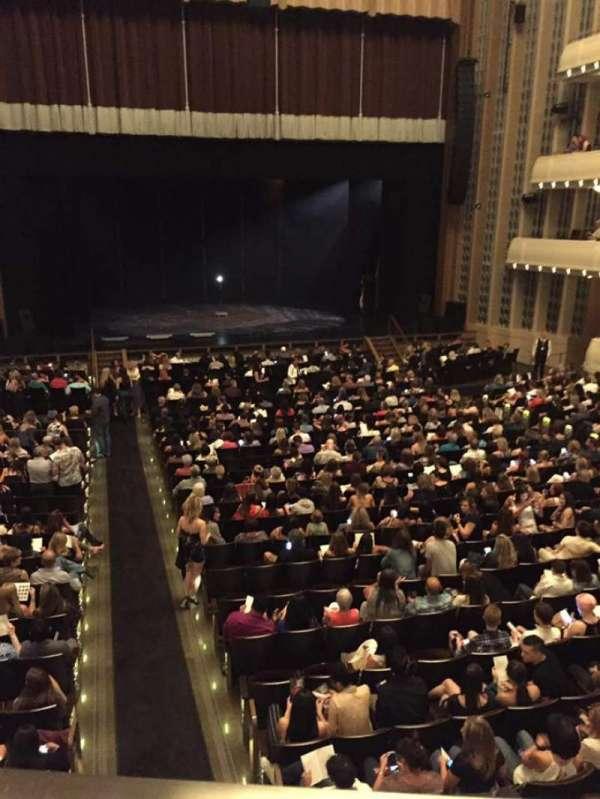 Reynolds Hall at The Smith Center, secção: Box Tier, fila: A, lugar: 3
