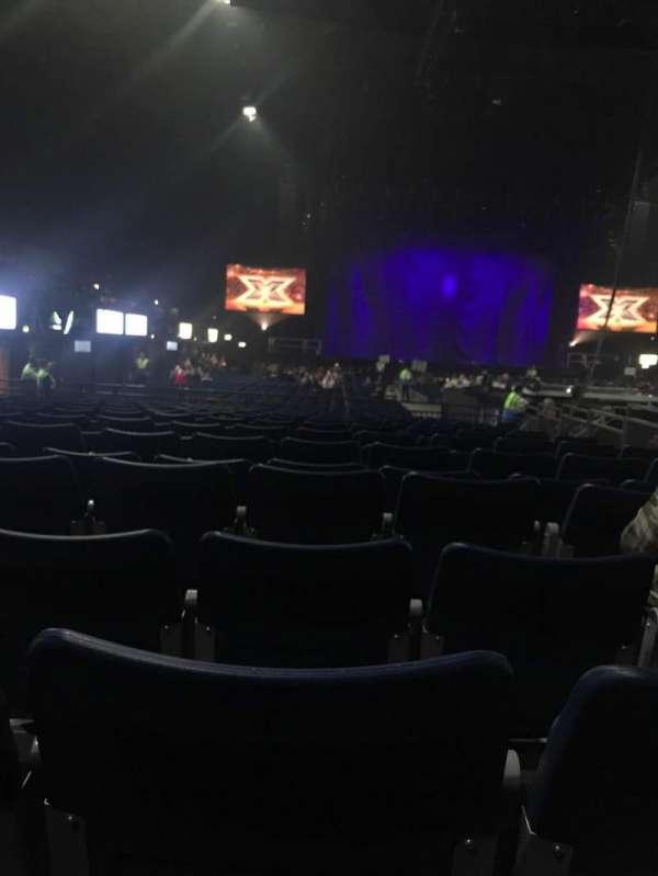 SSE Arena, Wembley, secção: D4, fila: 5, lugar: 47