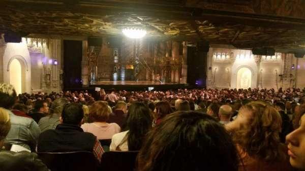 Orpheum Theatre (San Francisco), secção: Orchestra, fila: EE, lugar: 13