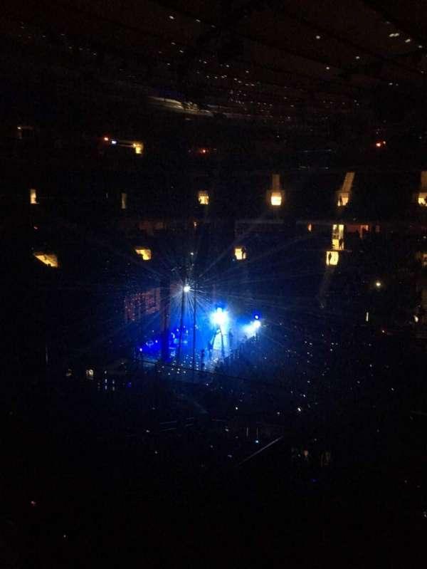 Madison Square Garden, secção: 223, fila: 4, lugar: 20