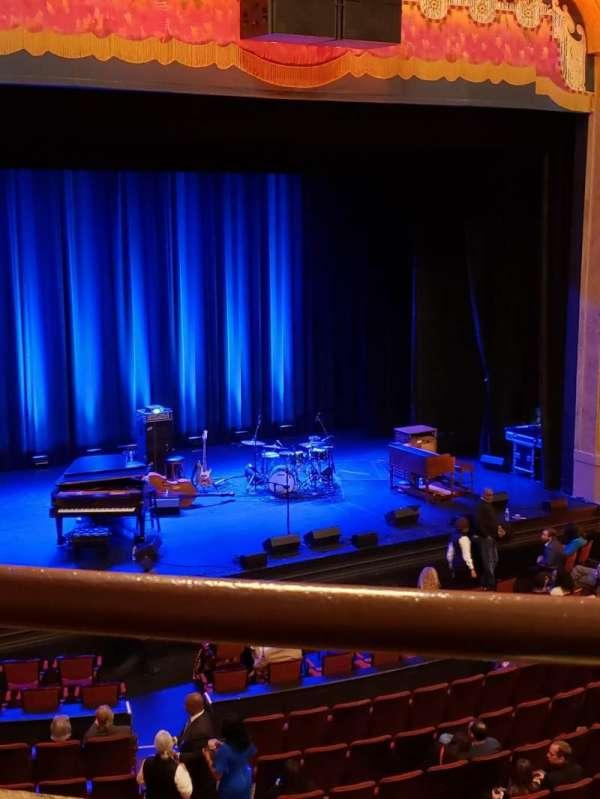 Balboa Theatre, secção: Loge, fila: A, lugar: 19
