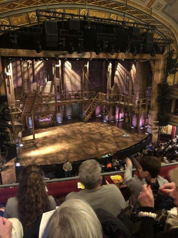 Richard Rodgers Theatre, secção: Front Mezzanine L, fila: C, lugar: 15