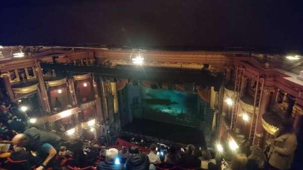 Palace Theatre (Manchester), secção: Grand Tier, fila: M, lugar: 10