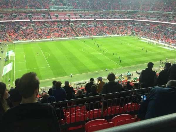 Wembley Stadium, secção: 504, fila: 10, lugar: 96