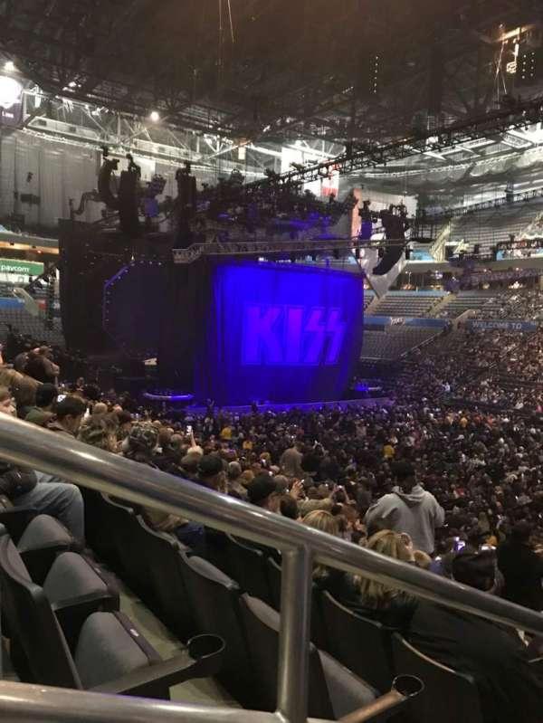 Chesapeake Energy Arena, secção: 103, fila: t, lugar: 23