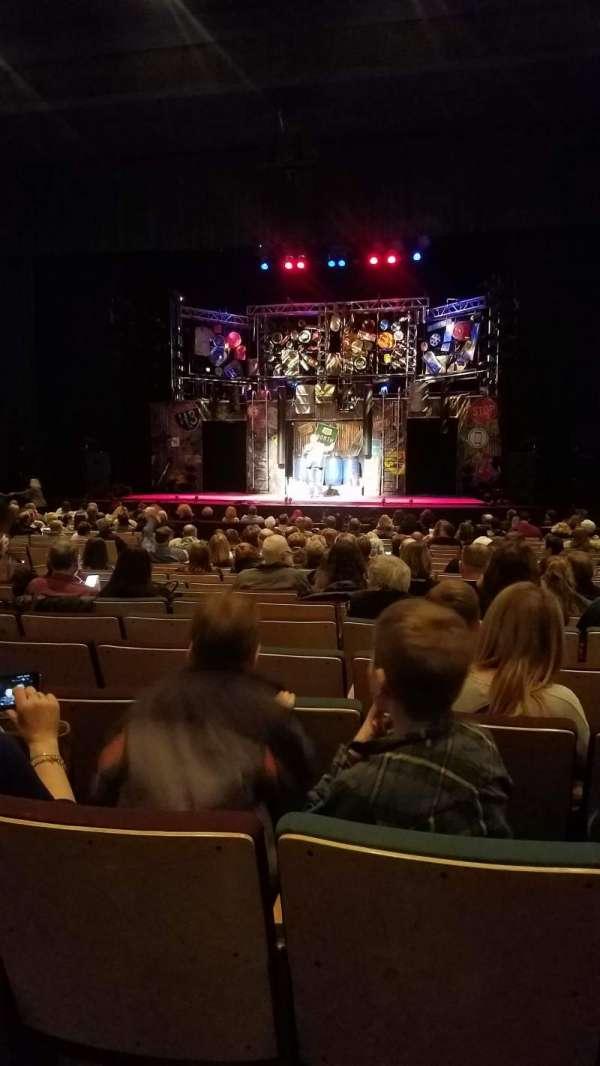 Stranahan Theater, secção: Floor RC, fila: U, lugar: 118