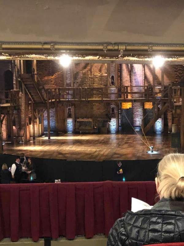 CIBC Theatre, secção: Dress Circle RC, fila: D, lugar: 222