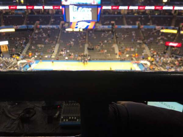 Chesapeake Energy Arena, secção: 323, fila: C, lugar: 6