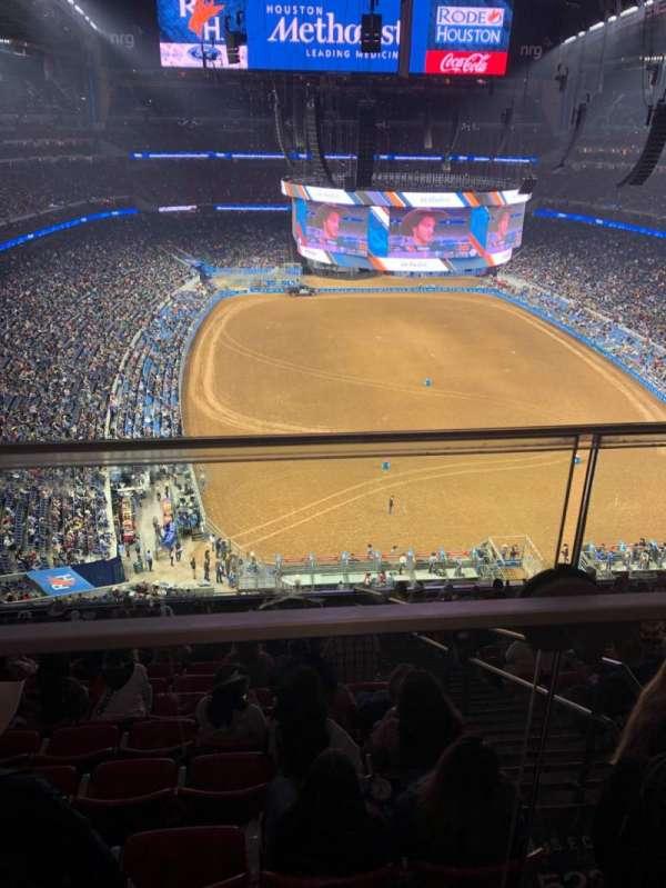 NRG Stadium, secção: 623, fila: A, lugar: 17
