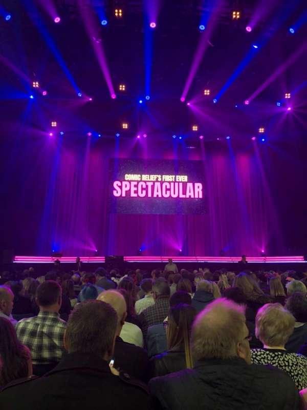 SSE Arena, Wembley, secção: A3, fila: 19, lugar: 35