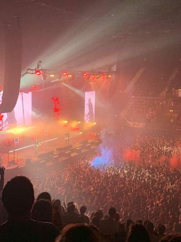SSE Arena, Wembley, secção: S5, fila: Q, lugar: 63