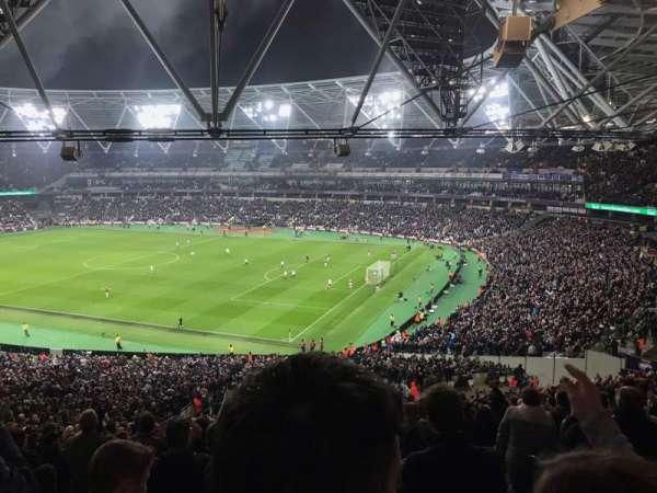London Stadium, secção: 242, fila: 50