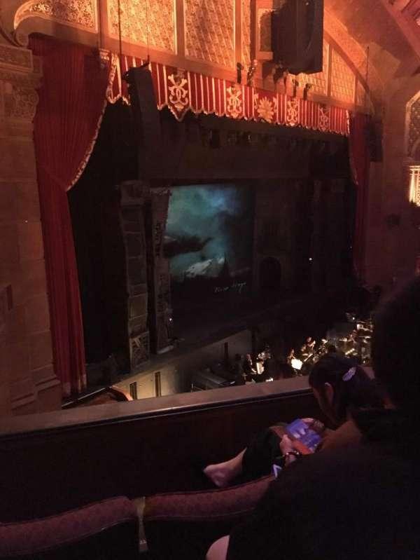 Fox Theatre (Atlanta), secção: Loge Left E, fila: CC, lugar: 45