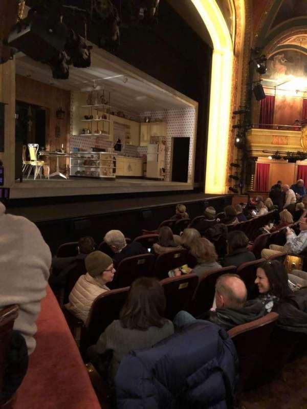 American Airlines Theatre, secção: Box AA, lugar: 11